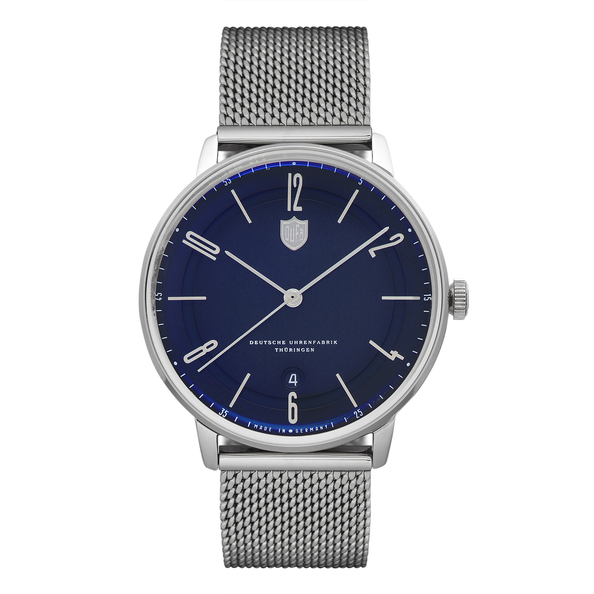Dufa Bayer Swiss-Made Blue Automatic Men's Watch 40mm 3ATM DF-9016-33