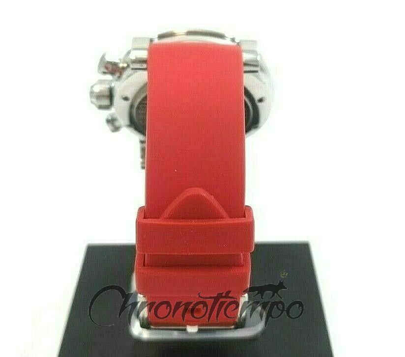 Curved Red Silicone Watch Band Strap 22mm for Graham Swordfish Bracelet free Tools