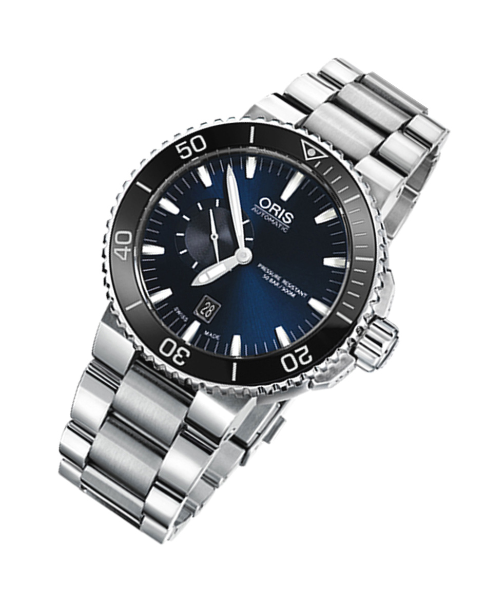 Oris Aquis Small Second Date Swiss Automatic Diver Watch