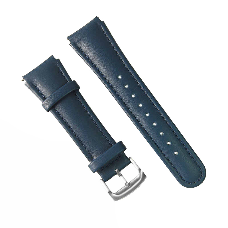 Chronotiempo watch Band Blue Angel Genuine Leather Strap for Citizen Watches AT8020 JY8078 JY8070 with 23mm lugs
