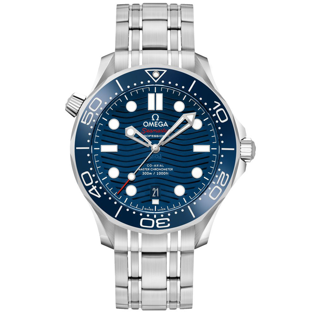 Omega Seamaster Men\'s Diver Watch 42mm Master Co-axial 210.30.42.20.03.001