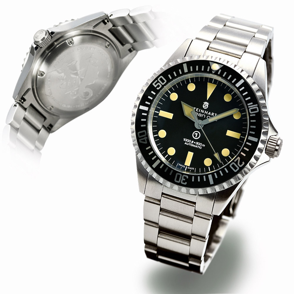 Steinhart Ocean Vintage Military Swiss Automatic Men\'s Watch