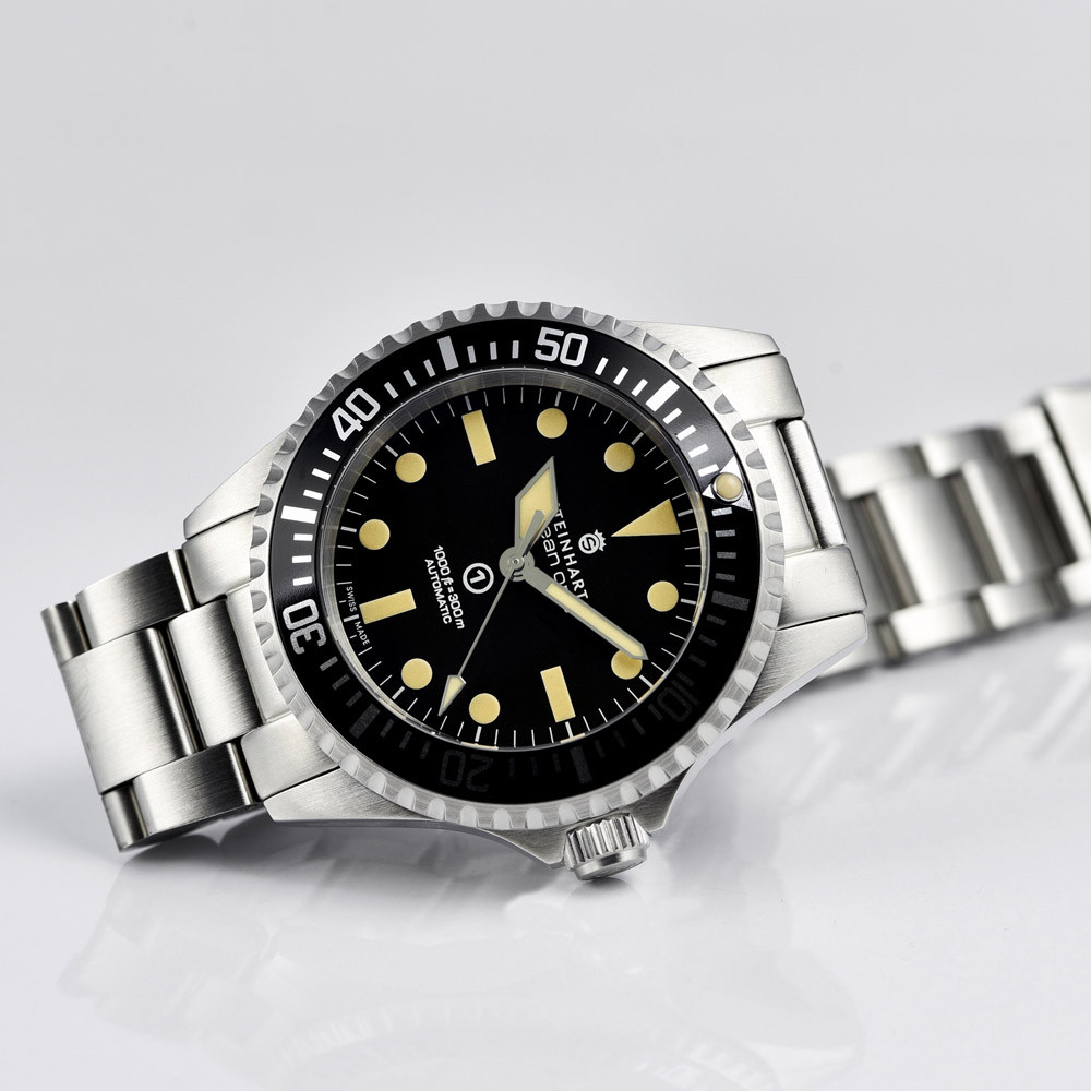 Steinhart Ocean Vintage Military Swiss Automatic Men's Watch